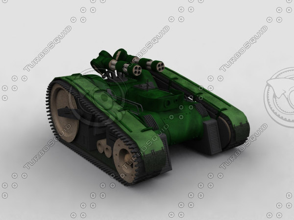 3d model of minigun scarab