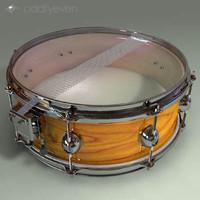 3d model snare drum