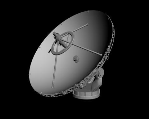 3d model parabolic