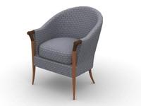 chair diningchair 3d model