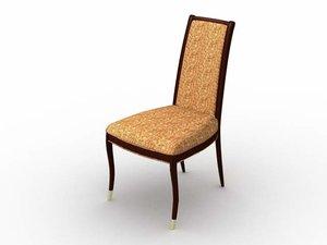 pavillion chair 3d lwo