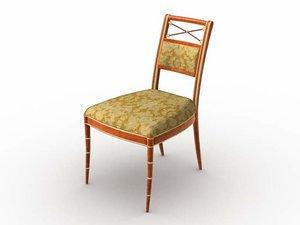 pavillion chair 3d model