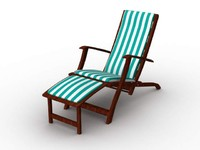 lightwave baked long chair