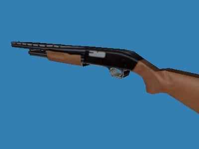 3ds max fusil