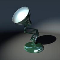 desk lamp 3d c4d