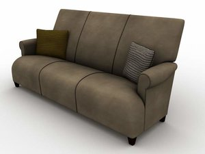 3d model donghia sofa
