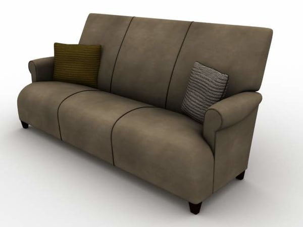 3d model donghia sofa