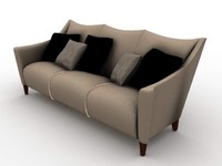 3d model couch furniture