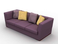 penthouse sofa 3d lwo