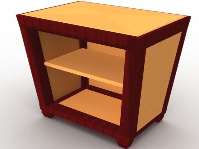 demille table 3d model