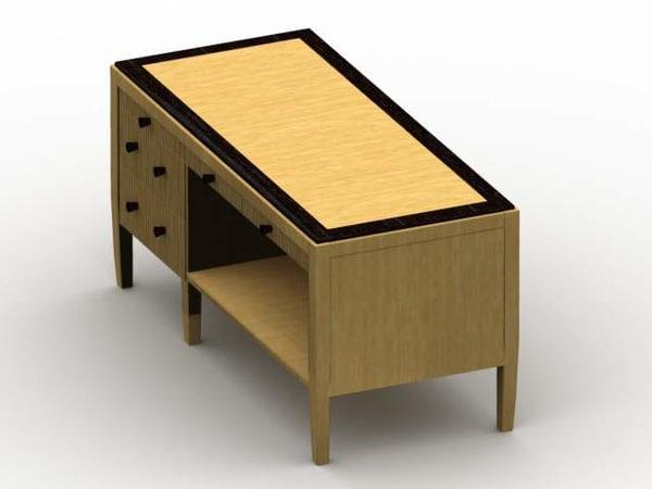 suite desk 3d ige