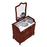 bath furniture 3d max