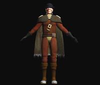 gelid character discworld 3d model