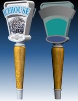 tap handle 3d max