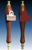 3d model of tap handle killians