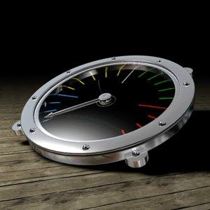 3d gauge tachymeter boat