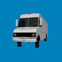 3ds max chevrolet stepvan van