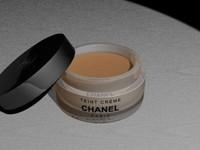 make-up creme chanel 3d model