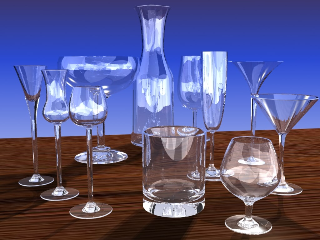 maya glass carafe
