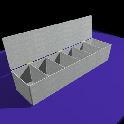 3d model condiment box