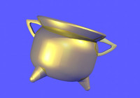 cauldron 3d model