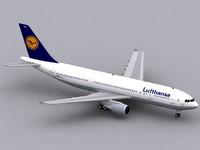 Airbus A300-600 Lufthansa