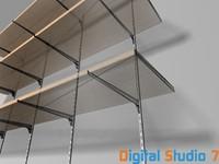 shelves v 3d max