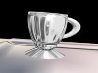 maya cups platter
