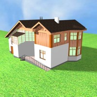 3d max house