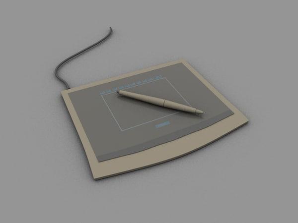wacom tablet 3d c4d