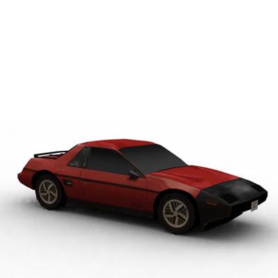 3ds max car asset