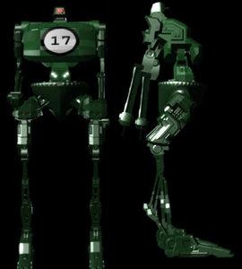 lightwave robot bot