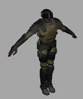 3d sand trooper model