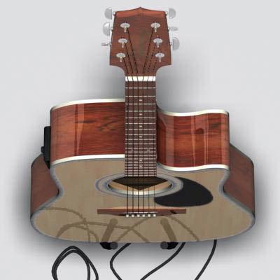 3d takamine guitar