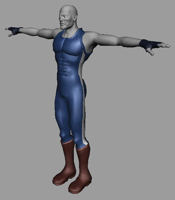 3d ver02 character