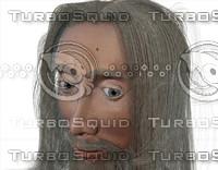 3d model man face