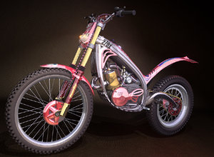 3d trials bike model