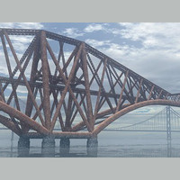 bridges forth rail 3d model