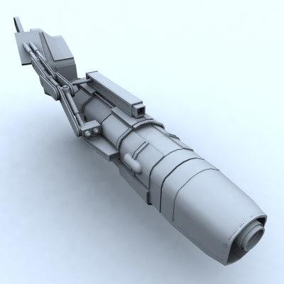 3d model plasma gun