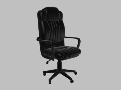 3d model computer chair