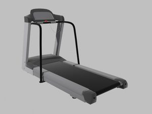 tredmill exercise 3d obj