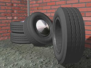 3ds max 4 tires