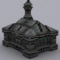 building barrack 3ds