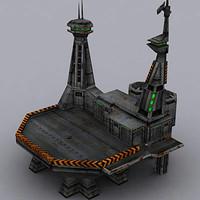 building barrack 3d model