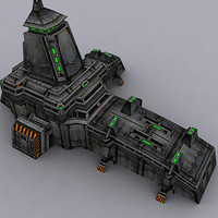 3d building military