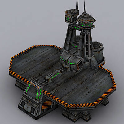 3d military structure