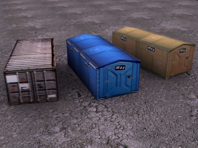 3ds max transport containers