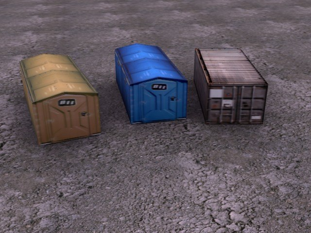 transport containers 3ds