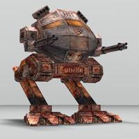 3d battle mechanoid