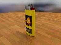 free 3ds model lighter